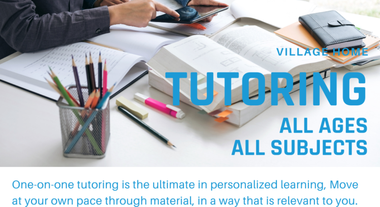 One-on-One Tutoring and Private Lessons