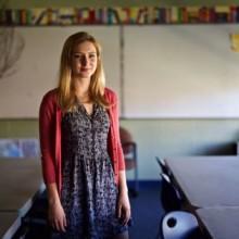 Home-schooler Claren Walker at the top of her class
