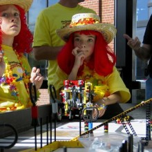 Students Put Robotics Skills to the Test at OMSI Competition