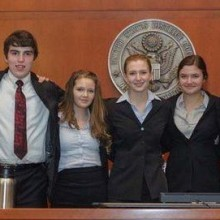 Home-schoolers win state's mock trial contest