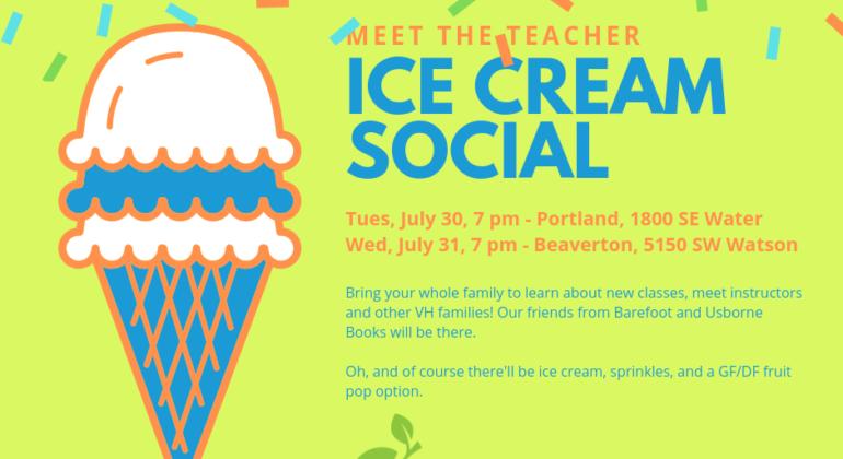 Meet the Teacher Ice Cream Social 2019