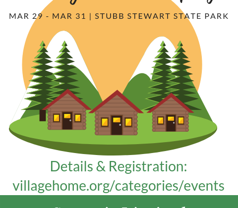 Glamping Trip –  Spring Break Cabin Camping March 29 – March 31