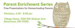 Parent Enrichment Series