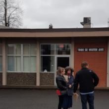Community Walk-through of NEW Portland Campus Location