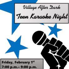 Village Home After Dark: Teen Karaoke Night