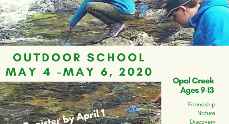 Outdoor School 2020