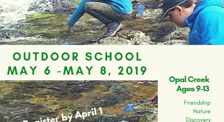 Outdoor School 2019