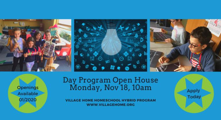 Day Program Open House