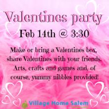 Salem Campus Valentine's Party