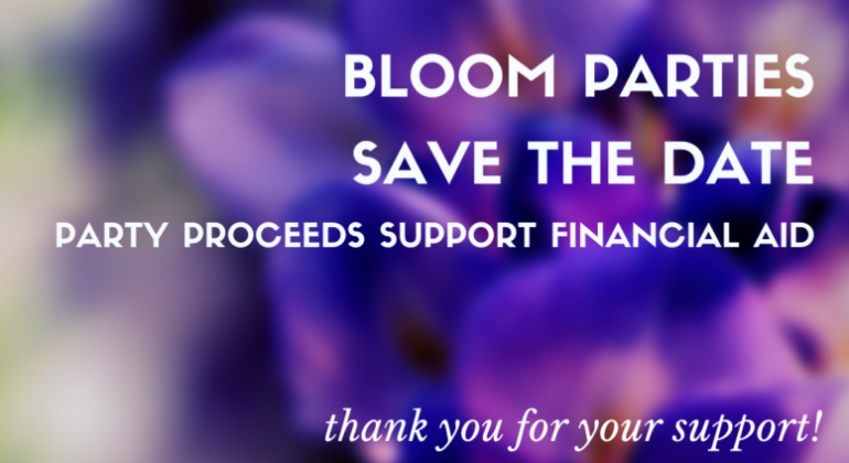 Bloom Fundraising Parties