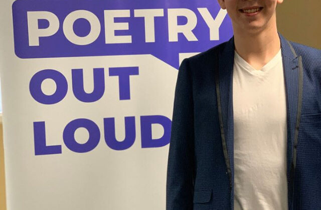 Poetry Outloud Winner