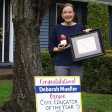 Deborah Mueller Awarded Educator of the Year for Classroom Law
