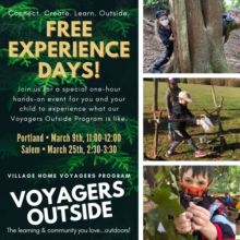Voyagers Outside Experience Day