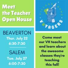 Meet the Teacher Events
